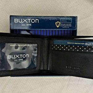 Buxton Men's Luciano Slimfold